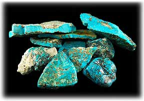 Real Turquoise - Morenci Turquoise