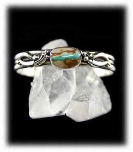 Ribbon Turquoise Cuff Bracelet