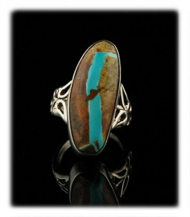 Ribbon Turquoise Jewelry Ring
