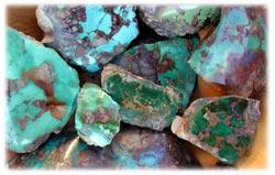 Royston Turquoise Rough