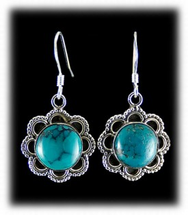 Fashion Dangle Turquoise Earrings