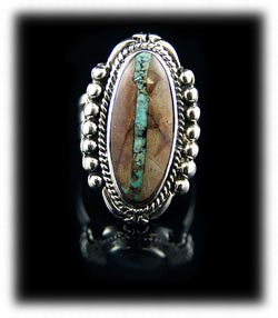 Ribbon turquoise jewelry by durango silver company for Royston ribbon turquoise jewelry