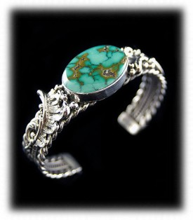 Royston Turquoise Cuff Bracelet