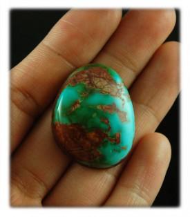 Blue Royston Turquoise Gemstone