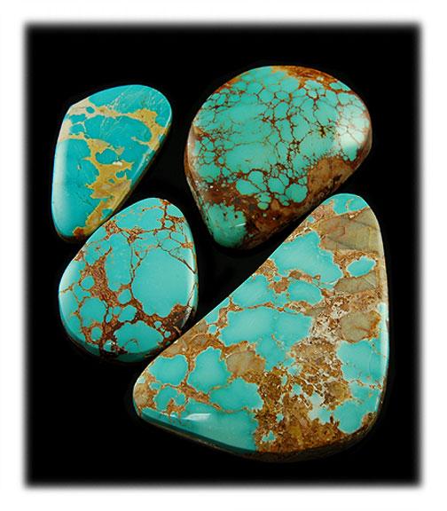 Blue Royston Turquoise Stones