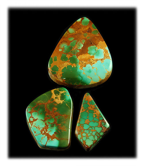 Blue / Green Royston Turquoise Gemstones