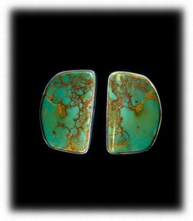 Royston Turquoise Stud Earrings