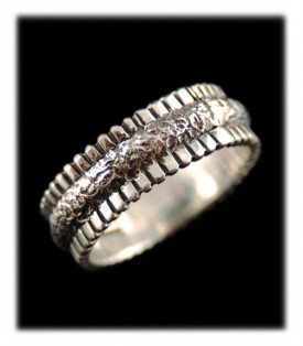 Silver Bands and Rings