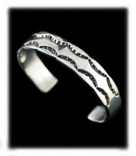 Silver Cuff Bracelet for Men