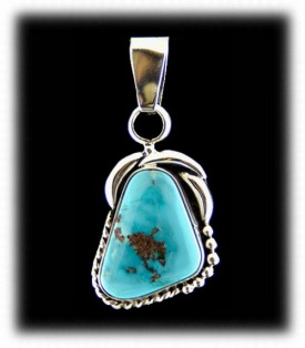 Authentic Silver and Turquoise Necklace