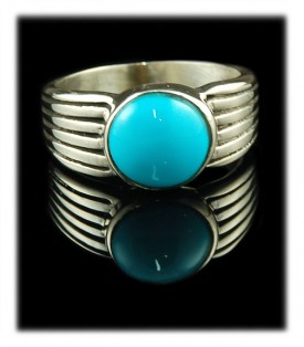 Sleeping Beauty Turquoise - An All American Mens Ring