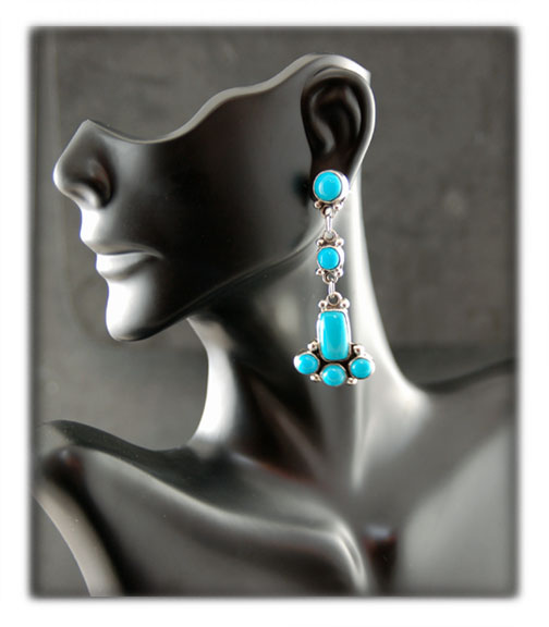 Sleeping Beauty Earrings Presentation