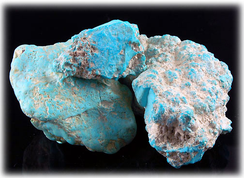 Natural Arizona Blue Turquoise Rough