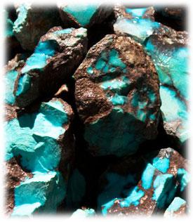 Bisbee Turquoise Rough