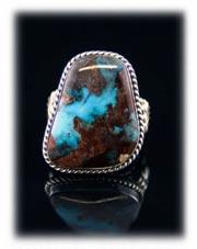 Southwestern Bisbee Turquoise JewelryRing