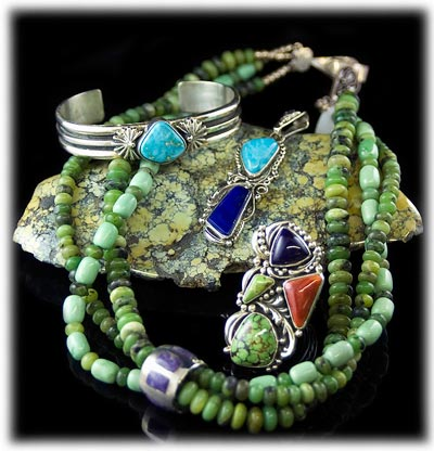 Green Turquoise Jewelry Information
