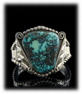 Blue Wind Spiderweb Turquoise Bracelet