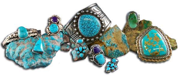 Spiderweb Turquoise Bracelets
