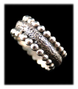 Sterling Silver Ring Band by Crystal Hartman