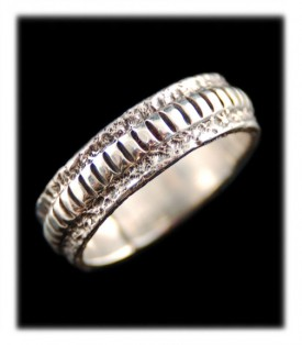 Sterling Silver Wedding Ring Bands