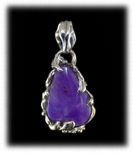 Sterling Silver Sugilite Jewelry