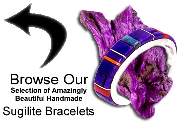 Native American Sugilite Jewelry