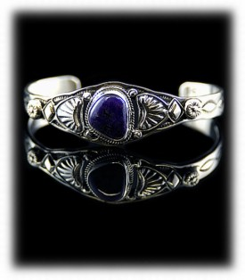 Handcrafted Sugilite Bracelet