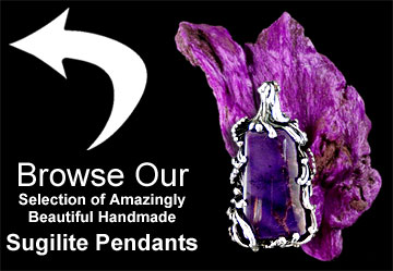 Browse Out Sugilite Pendants