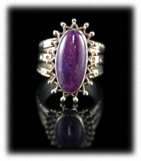 Sugilite in Sterling Silver by John Hartman