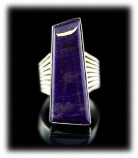 Womens Sugilite Ring