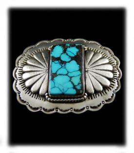 Tibetan Turquoise Belt Buckle