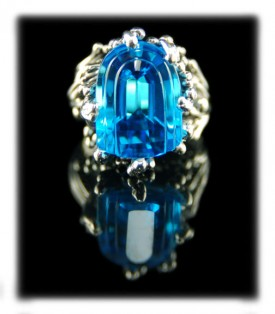 Wholesale Silver Jewelry - Topaz Ring by Crystal Hartman