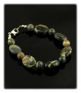 Tortoise Ribbon Turquoise Bracelet
