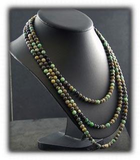 Tortoise Turquoise Beaded Necklace