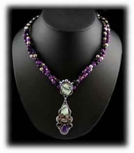 Tortoise Turquoise Necklace