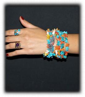 Fashion Turquoise Cuff Bracelet