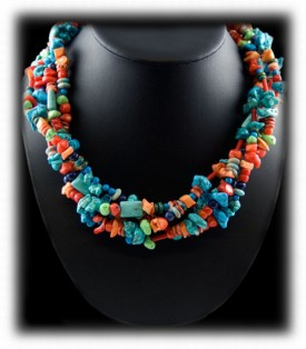 Turquoise Coral Jewelry
