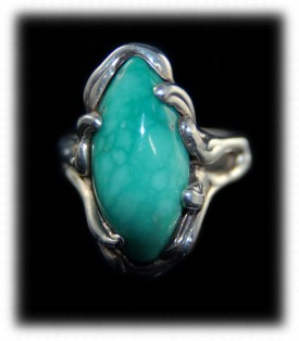 Broken Bow Turquoise Cabochon