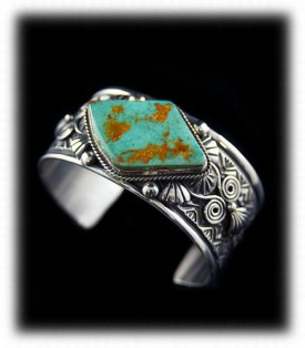 Blue Thunder Turquoise from Nevada Turquoise Mine