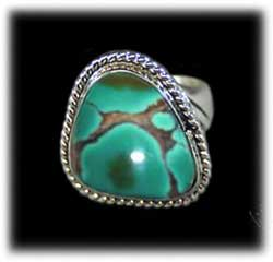 Frog Skin Nevada Green Turquoise