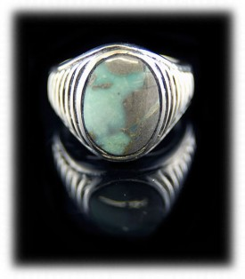 Haley's Comet Turquoise Mine Example