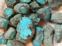 Stabilized Johnny Bull Mine Turquoise