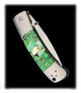 Orvil Jack Turquoise knife