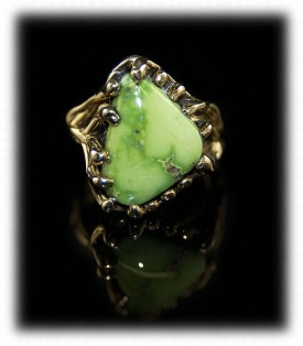 Orvil Jack Lime Turquoise Ring