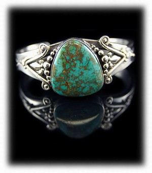 Stormy Mountain Turquoise Bracelet