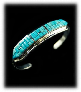 Inlay Turquoise Jewelry