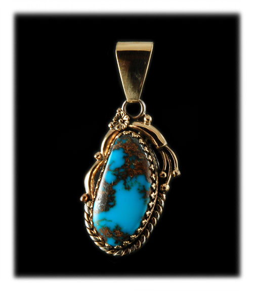 Tyrone Blue Turquoise Cabochon