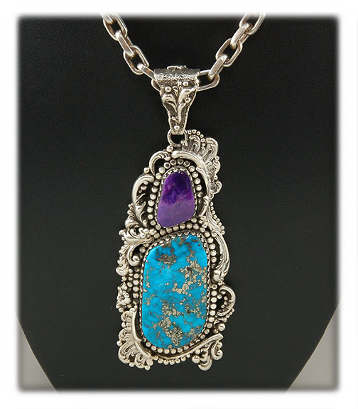 Morenci Turquoise Victorian Necklace