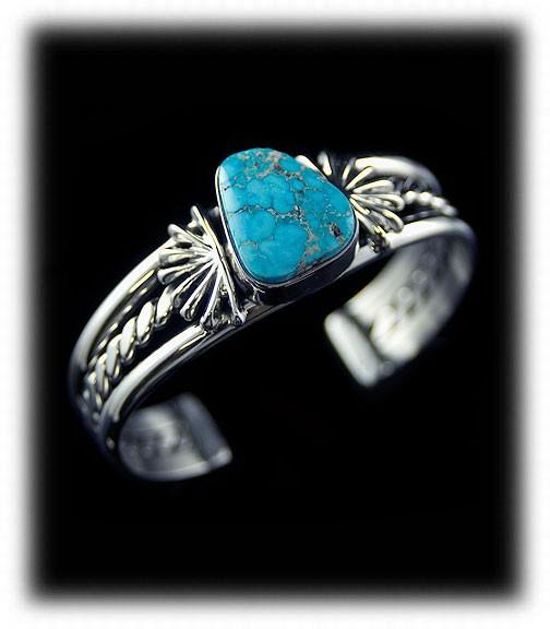 Villa Grove Turquoise bracelet by John Hartman