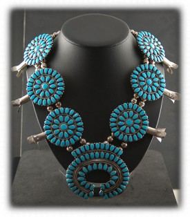 Zuni American Indian Necklace